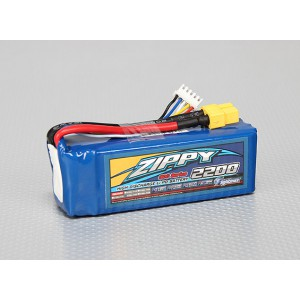 ZIPPY Flightmax 2200mAh 4S1P 30C Lipo Pack