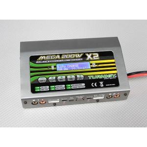 Turnigy Mega 200Втx2 зарядное устройство