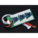 Плата параллельной зарядки для 6-ти батарей 2-6S (EC3)