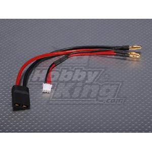 Провода с разъёмом Traxxas для 2S Lipo батарей в корпусе(1шт.)