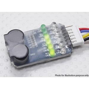 Бортовой индикатор разряда батареи (2s~6s)