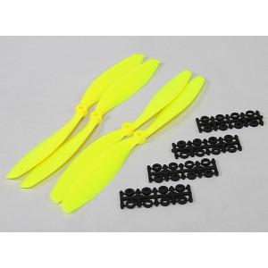 Винт SF 10x4,5 желтый (2+2 шт)