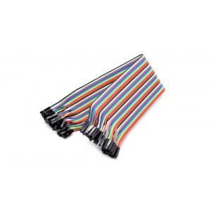 Однопиновый соединительный кабель мама-мама (1шт/пин)