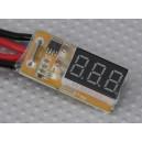 Ампер-вольтметр для тестирования силовой установки в онлайн режиме