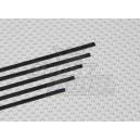 Карбоновые полоски 0.5x3x750мм (5шт)