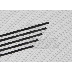 Карбоновые полоски 0.5x3x750мм (1шт)