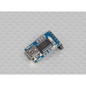 Угловой USB адаптер FTDI для подключения микроконтроллеров к ПК