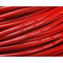 Провод Turnigy 12AWG в высокотемпературной силиконовой изоляции (1метр) КРАСНЫЙ