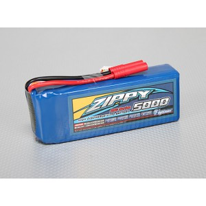 ZIPPY Flightmax 5000mAh 4S1P 25C Lipo Pack
