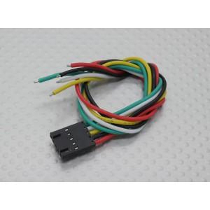 Провод (лужёный) с 5 контактным Molex разъёмом