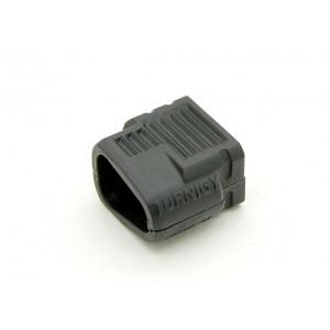 Корпус для разъёмов типа T-plug папа (1шт)