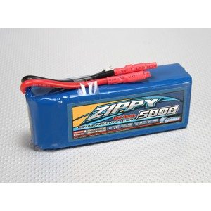 ZIPPY Flightmax 5000mAh 4S1P 30C Lipo Pack