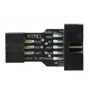 Переходник 10 to 6 pin для USBASP AVR