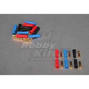 XT150 6-миллиметровые Золотые Разъёмы (3 пары в комплекте)