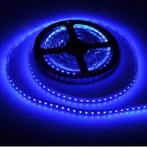 Светодиодная влагозащищенная лента 5см (синяя)