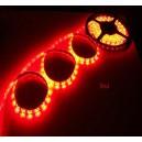 Светодиодная водонепроницаемая  лента 5см (красная)