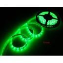 Светодиодная водонепроницаемая  лента 5см (зеленая)