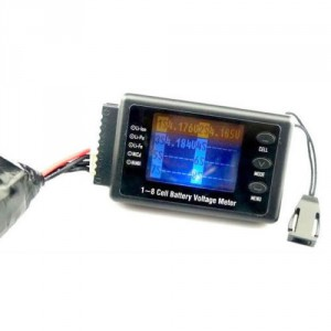 2-8 Cell Battery Voltage Meter