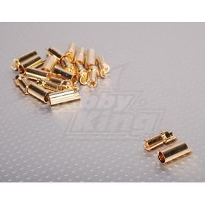 Золотые разъемы Polymax 5.5мм (1 пара)