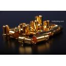 Золотые разъемы 8мм (1 пара)