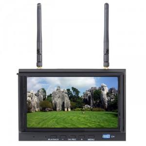 """Монитор 7"""" LCD5812 (40 каналов, разрешение 1024х600, со встроенным приемником)"""