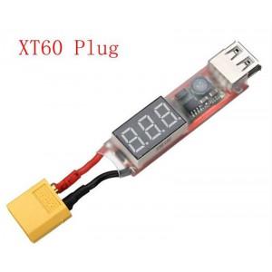 Переходник для зарядки от  2S-6S Lipo to USB