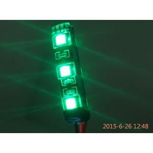 Светодиодная панель зеленая влагозащищенная