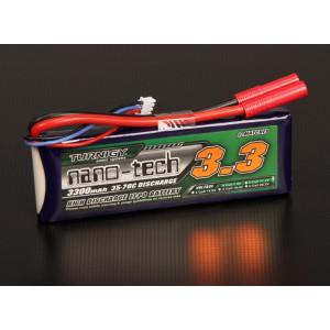 Turnigy nano-tech 3300mah 2S 35~70C Lipo Pack