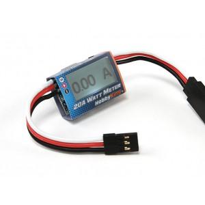 Ваттметр и анализатор сервоприводов HobbyKing ™ 20A