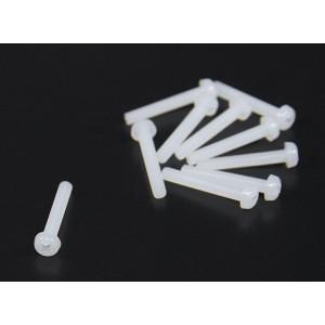 Нейлоновые винты М3x25  (10шт)