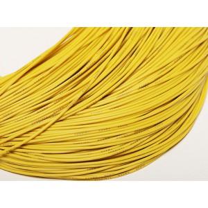 Провод Turnigy 14AWG в силиконовой изоляции (1метр) ЖЕЛТЫЙ