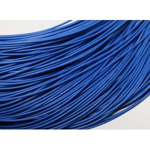 Провод 28AWG в силиконовой изоляции (1метр) СИНИЙ