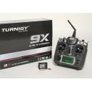 Передатчик Turnigy 9X (Mode2 - газ слева, 9 каналов, версия 2). В/ч модуль и приёмник (8 каналов)