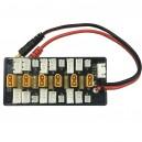 Плата для зарядки/балансировки групп по 6 аккумуляторов одновременно 1-3S (XT30)