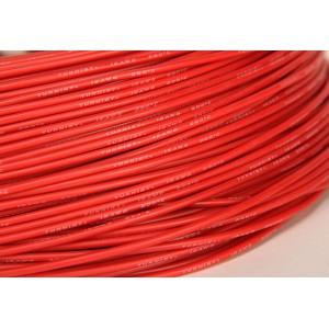 Провод 18AWG в силиконовой изоляции (1 метр) КРАСНЫЙ