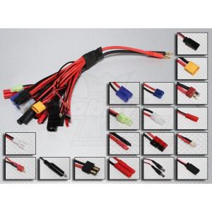 Разъемы для зарядки батарей 19 видов