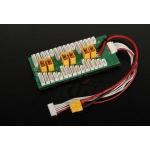 Плата для зарядки/балансировки групп по 6 аккумуляторов одновременно XT60