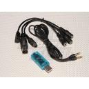 USB-кабель для использования передатчика с симулятором RealFlight G4.5