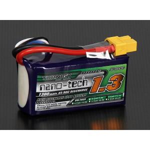 Turnigy nano-tech 1300mAh 3S 45~90C Lipo Pack