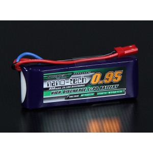 Turnigy nano-tech 950mah 2S 25-50C Lipo Pack