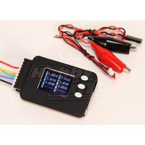 icharger Устройсто для контроля напряжения Cell-Log 8M (для батарей 2-8S Lipo)