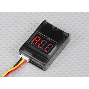 Устройство контроля 2-8S батарей