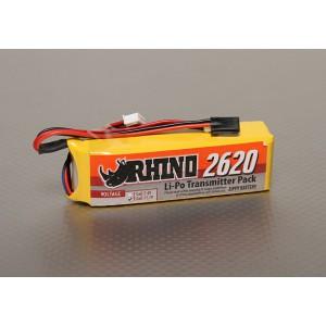 Rhino 2620mAh 3S 11.1v Lipo Pack аккумулятор для передатчика