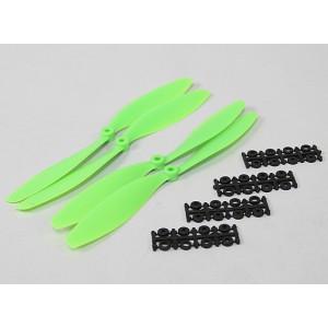Винт SF 10x4,5 зеленый (2+2 шт.)