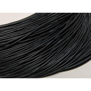Провод 24AWG в силиконовой изоляции (1метр) ЧЕРНЫЙ