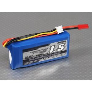 Turnigy 1500mAh 2S 25C Lipo Pack