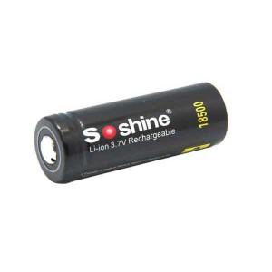 Soshine 18500 (3.7V 1400mAh)