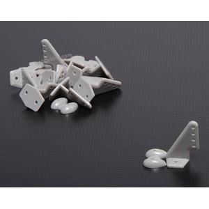 Кабанчики 20x27мм из полиоксиметилена (10шт)