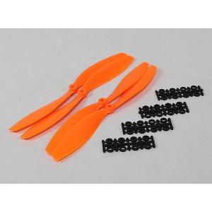 Винт SF 10x4,5 оранжевый (2+2 шт.)