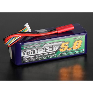 Turnigy nano-tech 5000mah 6S 35~70C Lipo Pack